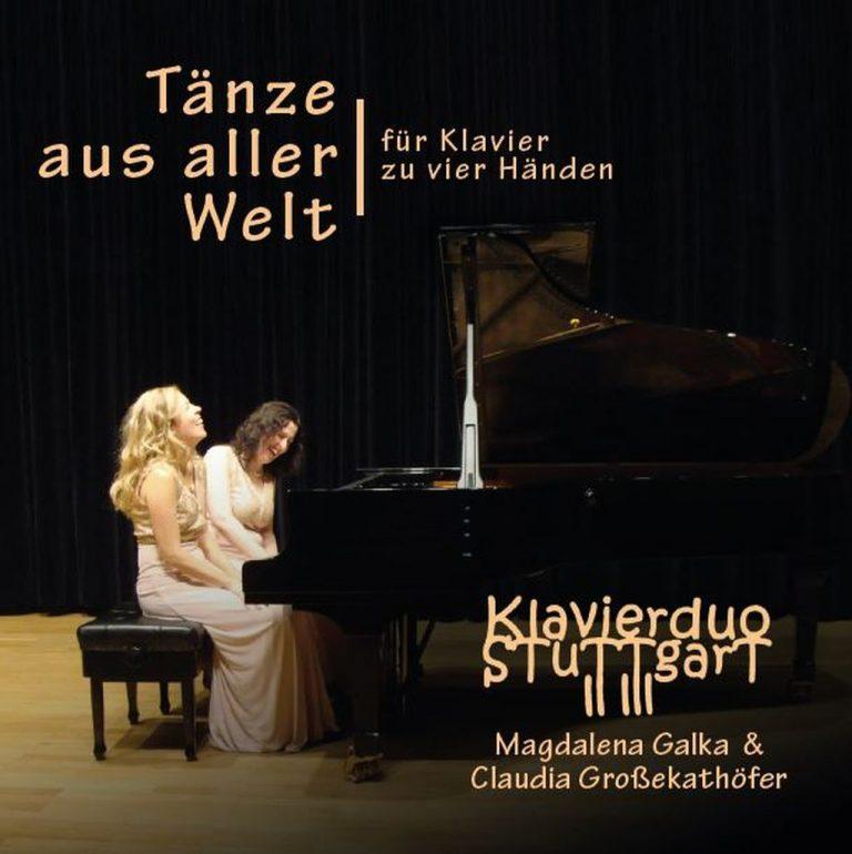 CD Tänze aus aller Welt Klavierduo Stuttgart