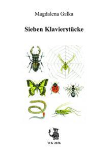 Sieben Klavierstücke Publikationen Magdalena Galka